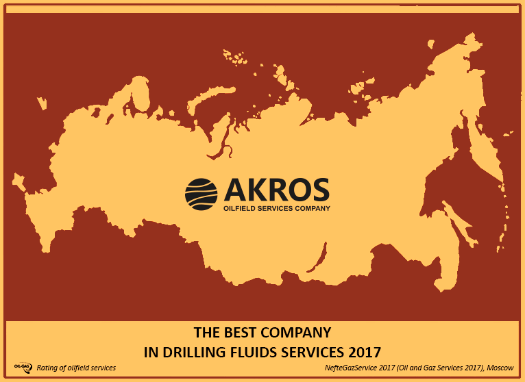 AKROS was recognized as the best the third consecutive year